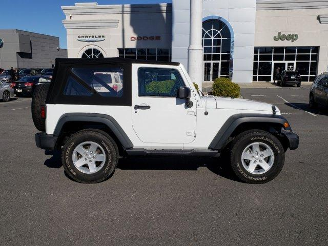 Certified Pre-Owned 2016 Jeep Wrangler 4WD 2dr Sport