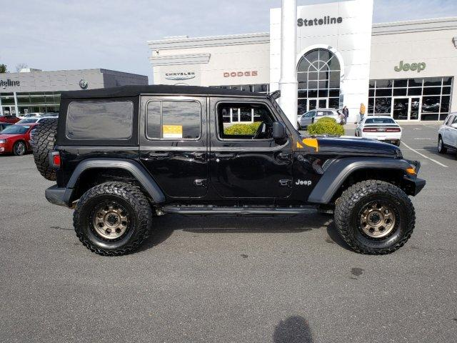 Certified Pre-Owned 2018 Jeep Wrangler Unlimited Sport S 4x4