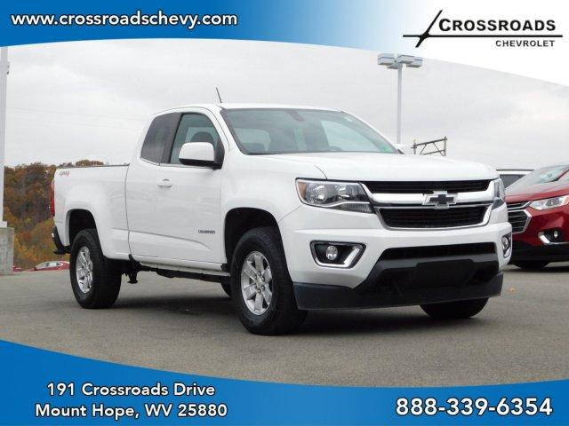 Pre-Owned 2018 Chevrolet Colorado 4WD Ext Cab 128.3 Work Truck
