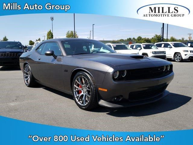 2016 Dodge Charger Srt 392 >> Certified Pre Owned 2016 Dodge Challenger 2dr Cpe Srt 392 Rwd 2dr Car