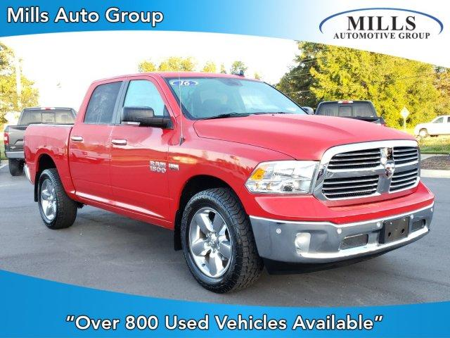 Pre-Owned 2016 Ram 1500 4WD Crew Cab 140.5 Big Horn