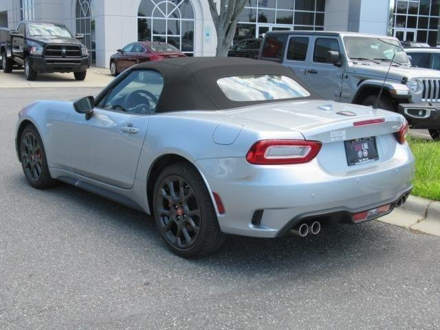 New 2018 FIAT 124 Spider Abarth Convertible
