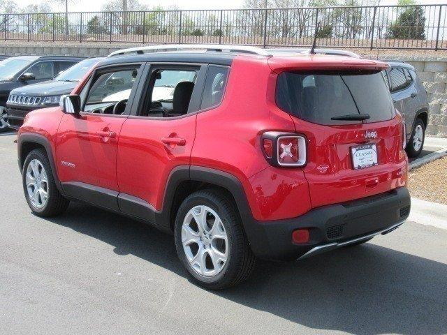 New 2018 JEEP Renegade Limited FWD