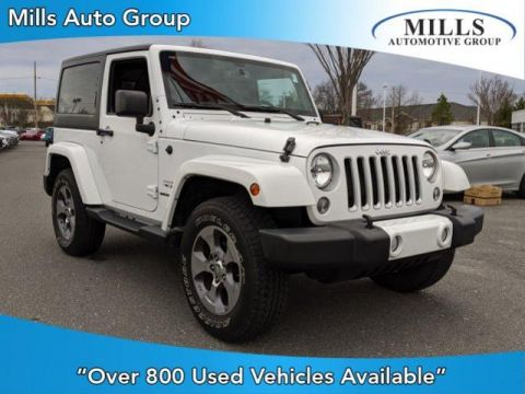 Certified Pre-Owned 2016 Jeep Wrangler 4WD 2dr Sahara
