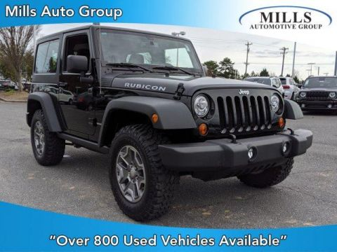 Certified Pre-Owned 2018 Jeep Wrangler JK Rubicon 4x4