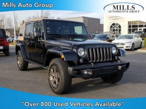 Certified Pre-Owned 2018 Jeep Wrangler Unlimited JK Golden Eagle 4x4