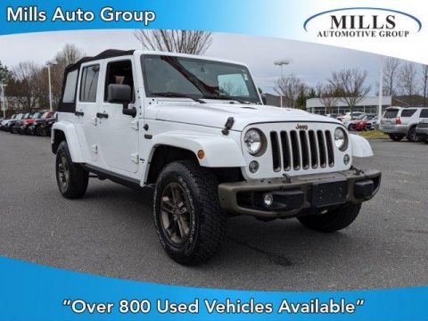 Certified Pre-Owned 2016 Jeep Wrangler Unlimited 4WD 4dr 75th Anniversary