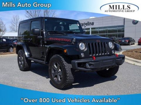 Pre-Owned 2017 Jeep Wrangler Rubicon Recon 4x4 4WD