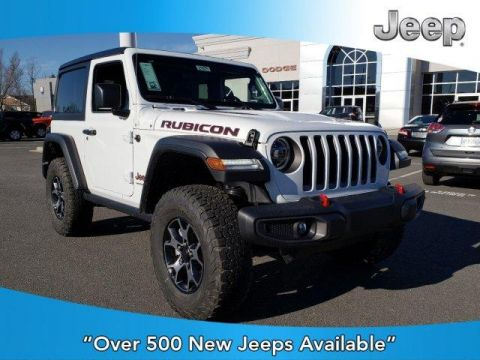 New 2020 JEEP Wrangler Rubicon 4x4 With Navigation