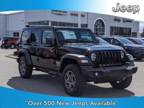 New 2020 JEEP Wrangler Sport S 4x4 With Navigation