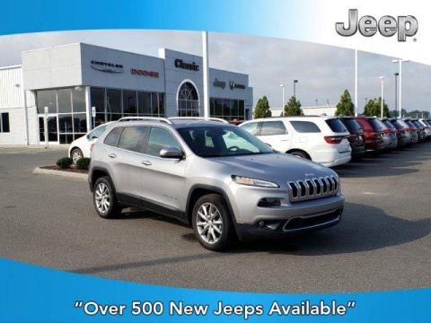 New 2017 JEEP Cherokee Limited FWD