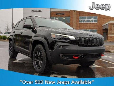 New 2020 JEEP Cherokee Trailhawk 4x4 With Navigation