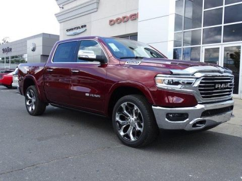 New 2019 RAM All-New 1500 Longhorn 4x2 Crew Cab 5'7 Box With Navigation