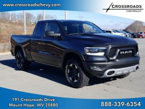 Pre-Owned 2019 Ram 1500 Rebel 4x4 Quad Cab 6'4 Box