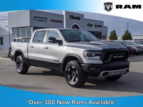 New 2020 RAM 1500 Rebel 4x4 Crew Cab 5'7 Box With Navigation