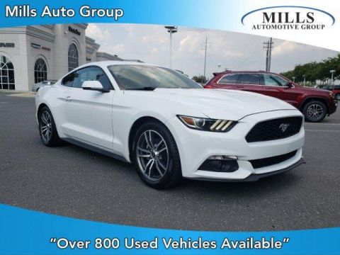 Pre-Owned 2015 Ford Mustang 2dr Fastback EcoBoost Premium