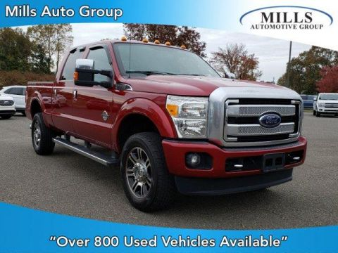 Pre-Owned 2015 Ford Super Duty F-350 SRW 4WD Crew Cab 156 Platinum