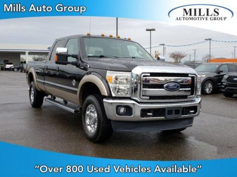 Pre-Owned 2014 Ford Super Duty F-350 SRW 4WD Crew Cab 172 Lariat