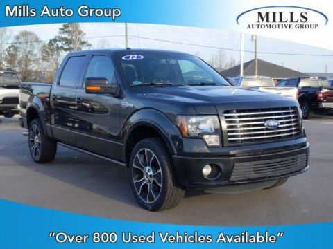 Pre-Owned 2012 Ford F-150 4WD SuperCrew 145 Harley-Davidson 4WD