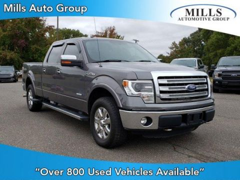Pre-Owned 2013 Ford F-150 4WD SuperCrew 157 Lariat