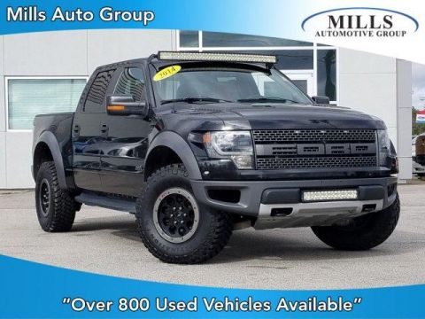 2014 Ford F-150 4WD SuperCrew 145 SVT Raptor