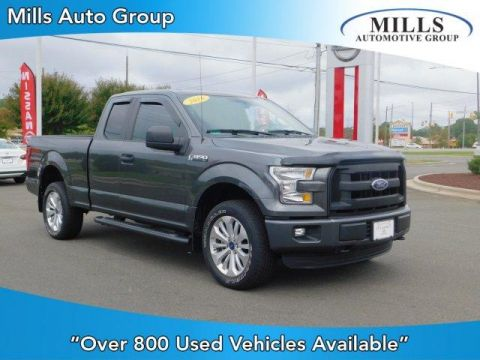 2016 Ford F-150 4WD SuperCab 145 XL