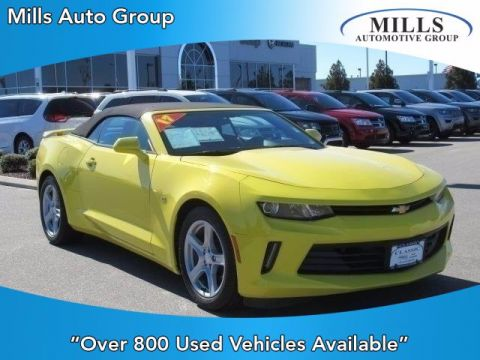 Pre-Owned 2017 Chevrolet Camaro 1LT RWD Convertible