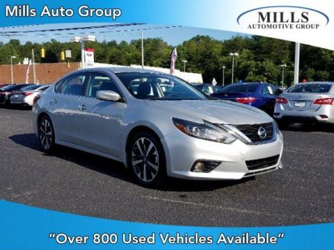 Pre-Owned 2017 Nissan Altima 2.5 SR Sedan