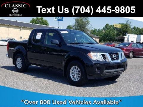 Pre-Owned 2018 Nissan Frontier Crew Cab 4x2 SV V6 Auto