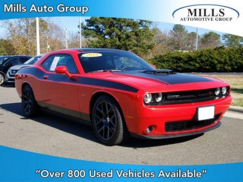 Pre-Owned 2016 Dodge Challenger 2dr Cpe R/T Shaker