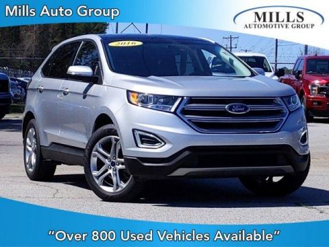 Pre-Owned 2016 Ford Edge 4dr Titanium FWD FWD Sport Utility