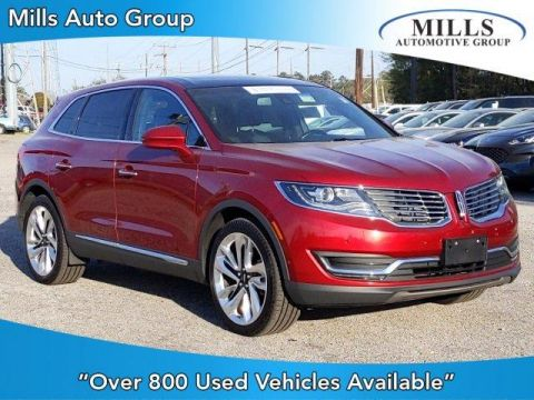 Pre-Owned 2016 Lincoln MKX AWD 4dr Reserve AWD