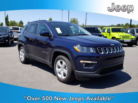 New 2019 JEEP Compass Latitude FWD Sport Utility