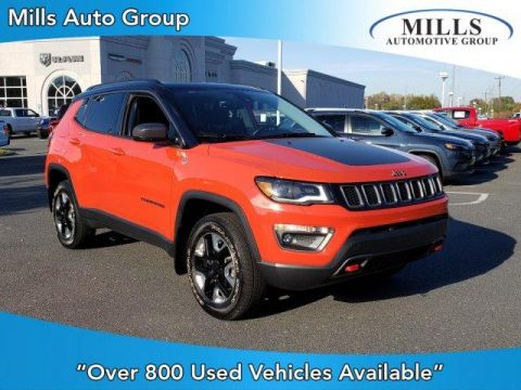 Pre-Owned 2017 Jeep Compass Trailhawk 4x4