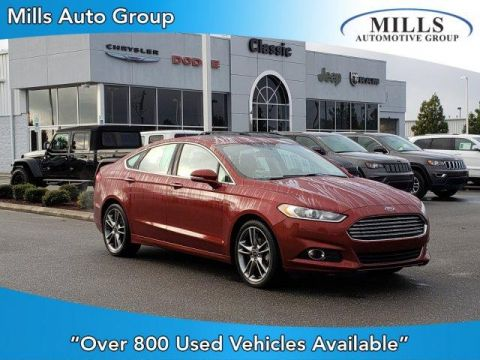 Pre-Owned 2014 Ford Fusion 4dr Sdn Titanium FWD