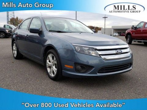 Pre-Owned 2012 Ford Fusion 4dr Sdn SE FWD