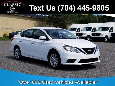 Pre-Owned 2017 Nissan Sentra S Manual