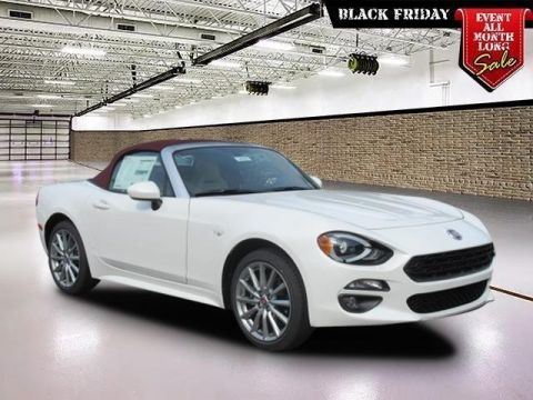 New 2018 FIAT 124 Spider Lusso Red Top Edition Convertible
