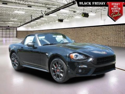 New 2018 FIAT 124 Spider Elaborazione Abarth Convertible
