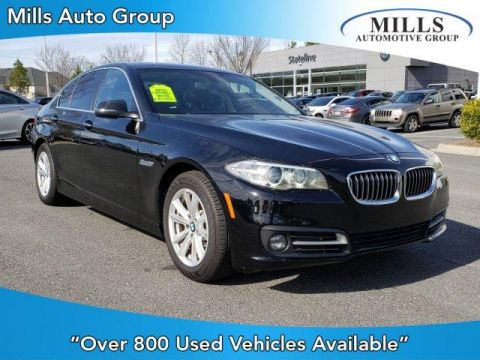 Pre-Owned 2016 BMW 5 Series 4dr Sdn 528i RWD RWD 4dr Car