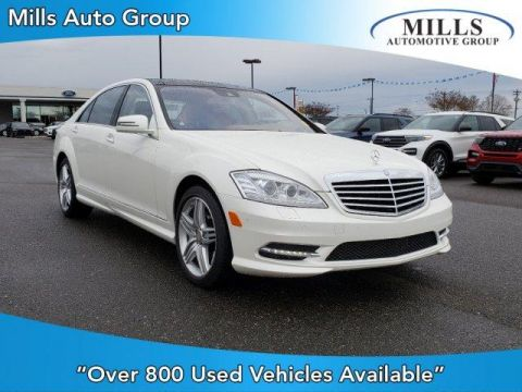 Pre-Owned 2013 Mercedes-Benz S-Class 4dr Sdn S 550 4MATIC®