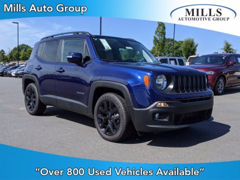 Pre-Owned 2018 Jeep Renegade Altitude FWD Sport Utility