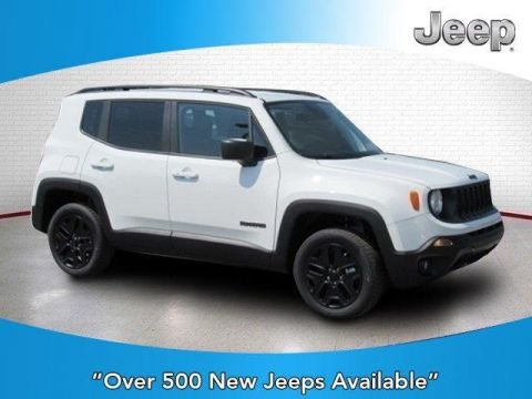 New 2018 JEEP Renegade Upland Edition 4x4 4x4 Sport Utility