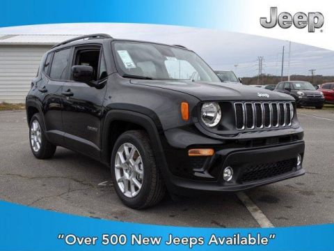 New 2020 JEEP Renegade Latitude FWD FWD Sport Utility